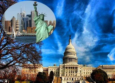 Tour ghép: Mỹ – Hai Bờ Đông Tây ( 11N10Đ)